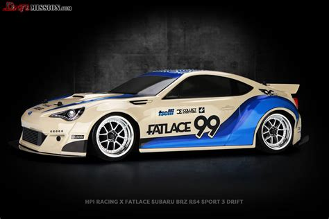 subaru brz racing hpi x fatlace subaru brz driftmission your home for rc
