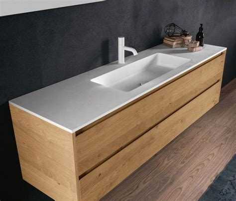 vanity units kleine badezimmer die besten 25 basin unit ideen auf
