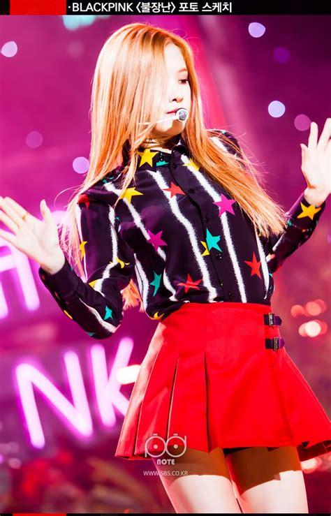 blackpink inkigayo blackpink on stage backstage at sbs inkigayo 161106