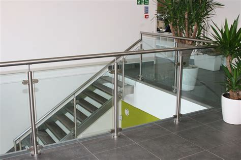 Commercial Balustrade Glass Balustrades From Modern Glass Oxfordshire And