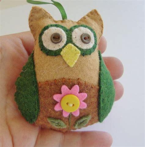 Handmade Owl - owl ornament handmade owl owl decoration