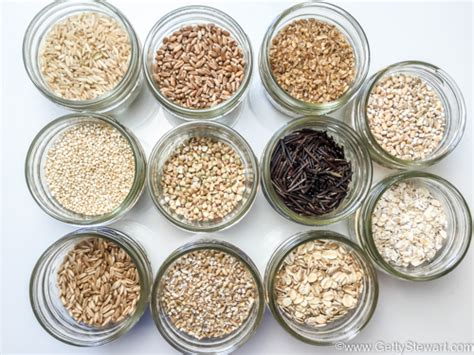 whole grains label how to cook and freeze whole grain gettystewart