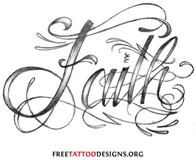 faith lettering tattoo designs faith images designs