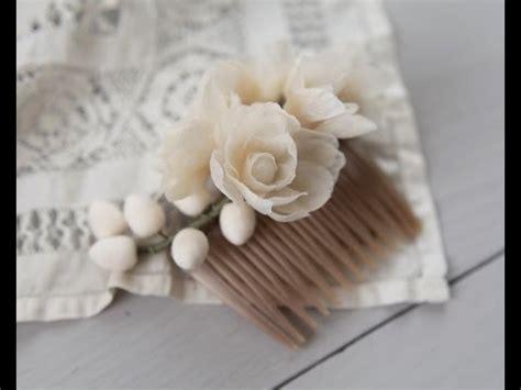 How To Make Wax Paper Flowers - wax flowers diy tutorial