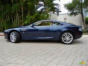 Blue Aston Martin Db9 Midnight Blue 2011 Aston Martin Db9 Coupe Exterior Photo