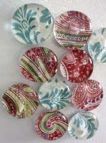 Craft shows glass magnets look nice are easy to make and sell at craft
