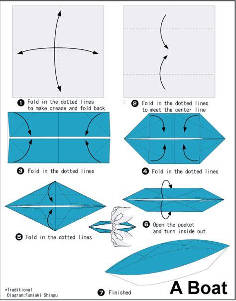 cara mudah membuat origami perahu cara membuat origami kapal dengan mudah cara mudah