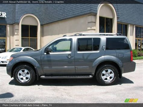 grey nissan pathfinder 2005 nissan pathfinder se in gray metallic photo no