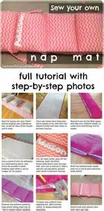 sew how to sew and nap mats on