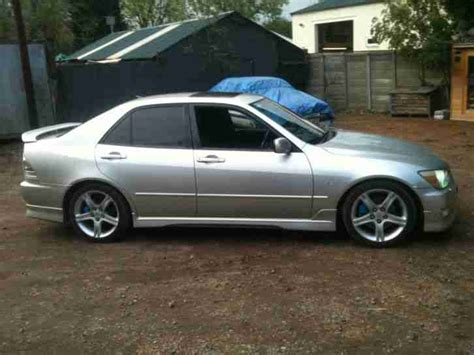 lexus altezza modified lexus modified is200 12 months mot car for sale