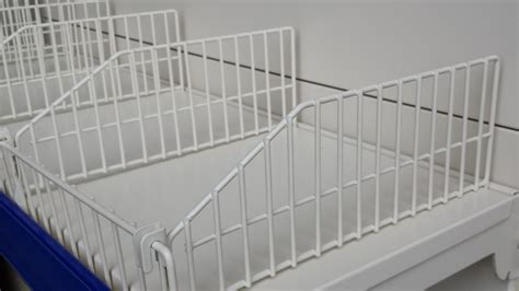 Simple Diy Wire Shelf Dividers Home Decorations Shelf Dividers For Wire Shelves