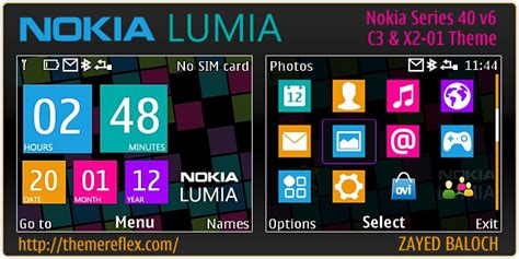 Nokia C3 00 Lumia Themes | nokia lumia theme for asha 200 201 c3 00 x2 01