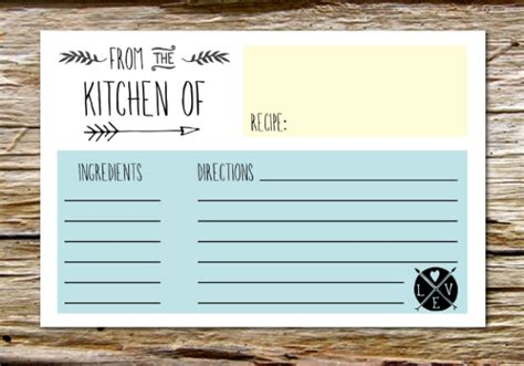 chalkboard recipe card template 15 free recipe cards printables templates and binder inserts