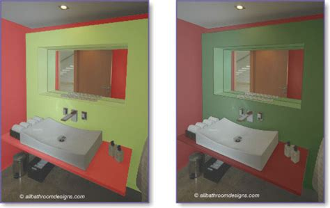 red and green bathroom red bathroom design and decor inspiration