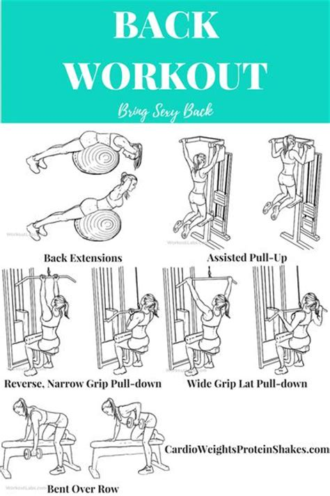 25 best ideas about back workouts on back