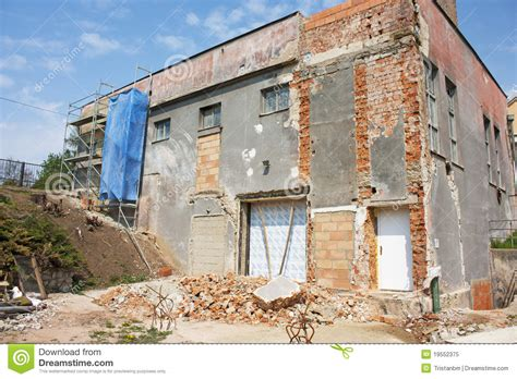 house reconstruction house reconstruction royalty free stock photo image