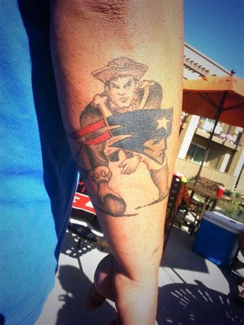 tom brady tattoo pat patriot pats tats patriots fans