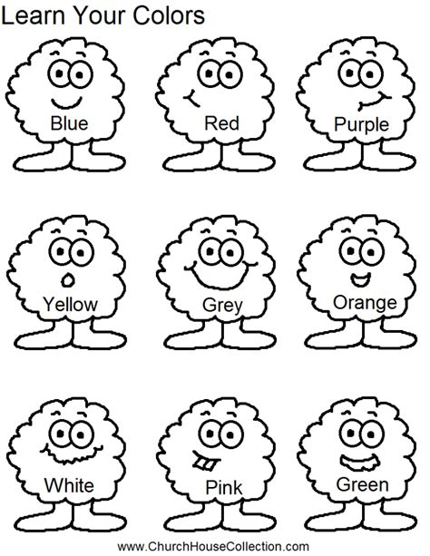 coloring pages for toddlers preschool and kindergarten coloring pages learn your colors preschool worksheet