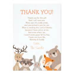 baby shower thank you cards invitations zazzle co uk