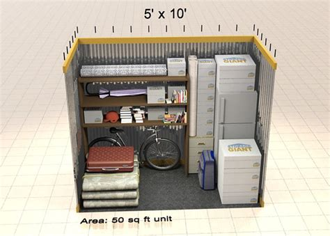 50 square feet instant storage quote storage giant