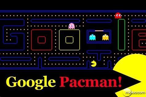 pacman doodle logo os segredos do minilua