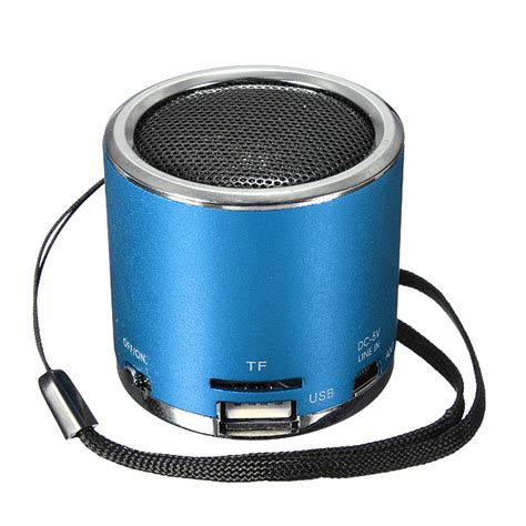 Usb Speaker portable mini speaker lifier fm radio usb micro sd tf card mp3 us 7 37 sold out