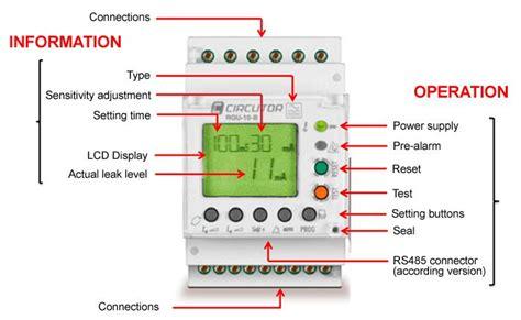 earth leakage relay wiring diagram voltage wiring diagram