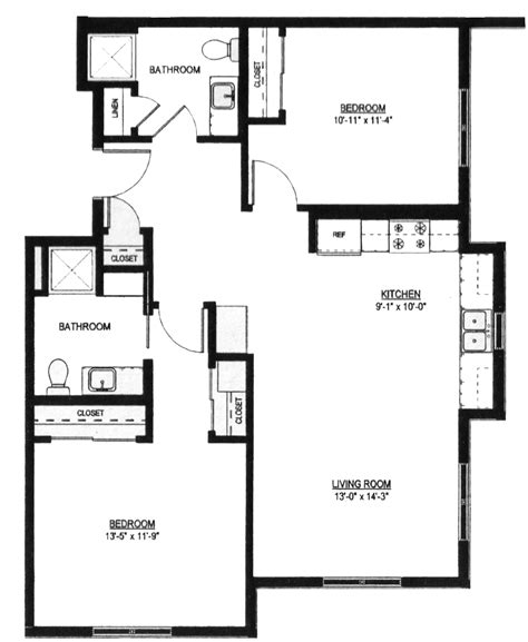 950 square feet two bed two bath 950 sq ft christian family solutions