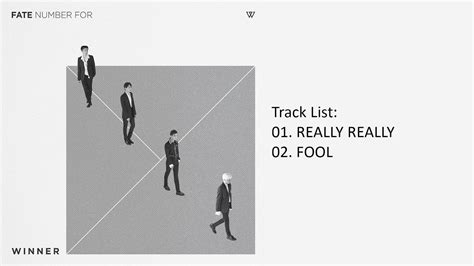 Winner Fate Number For Album Unsealed winner fate number for