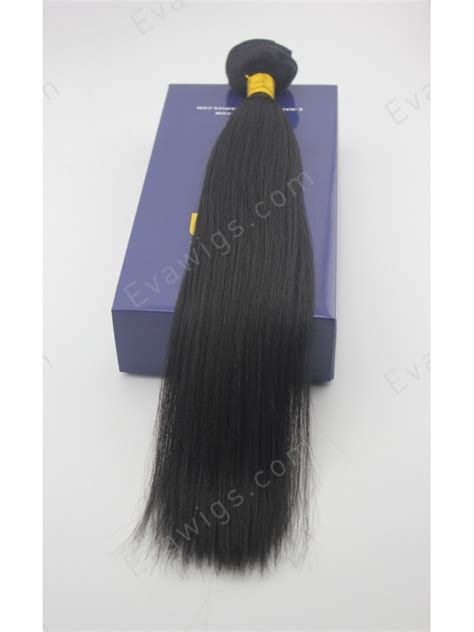 human hair extension high quality yaki high quality human hair clip in hair