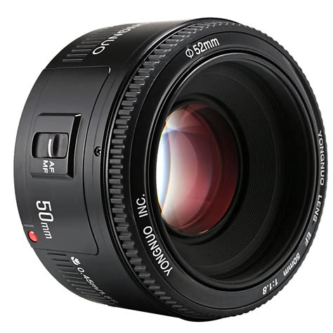 Yongnuo 50 F18 Afmf Prime Fixed Lens For Canon 6 7 60 70 700d ebay