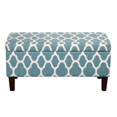 decorative storage ottoman large teal blue decorative storage ottoman everything