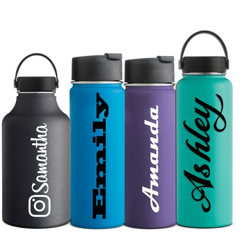 printable vinyl for water bottles name decal hydro flask water bottle sticker hydroflask