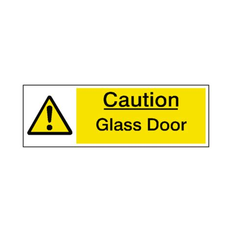 Glass Door Safety Stickers Glass Door Warning Sign Safety Label Co Uk Safety Signs Safety Stickers And Safety Labels