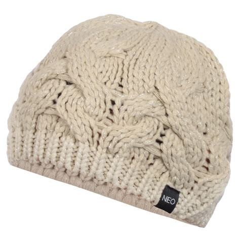 womens cable knit hat adidas neo womens chunky cable knit warm beret
