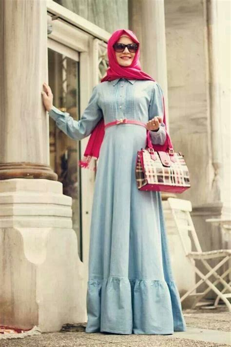 Carlita Maxy Dress Mouslim Midis Gamis z style muslimah fashion style butik nabila