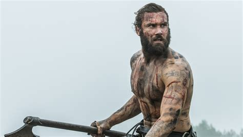 rollo tattoo vikings meaning inside scoop clive standen talks rollo s future in