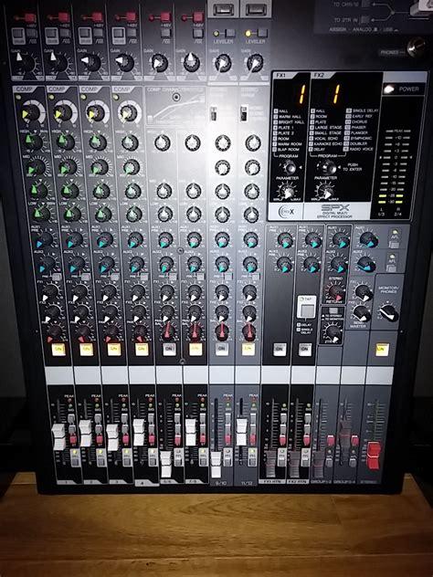 Audio Mixer Yamaha Mgp12x yamaha mgp12x image 895009 audiofanzine