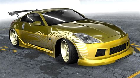 fast and furious nissan 350z need for speed prostreet how to make morimoto s 350z