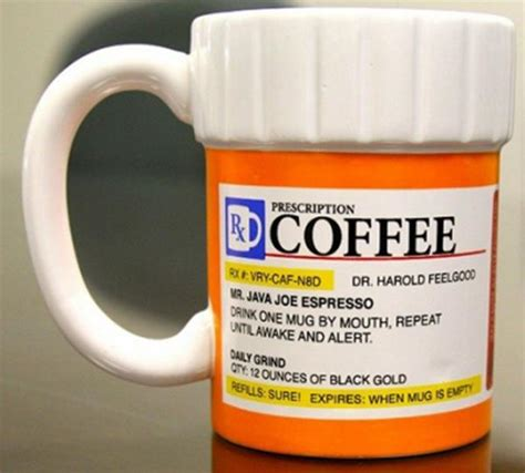 Prescription Medicine Ceramic Coffee Kitchen Mug   Espresso Java Cappuccino Tea   eBay