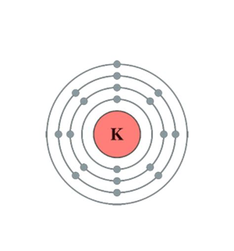 bohr diagram for potassium potassium in our world thinglink