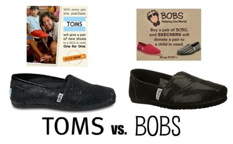 Toms Vs Bobs Wharton Retail Fashion