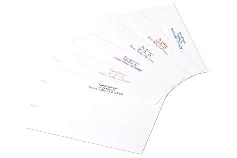 Can A Gift Card Be Returned - return address envelope imprinting bay photo lab bay photo lab