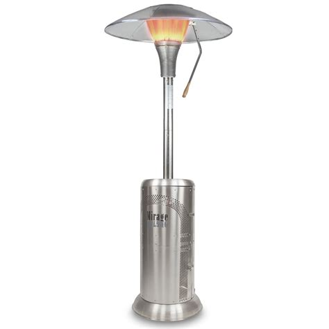 Patio Heaters by Universal Innovations Mirage Heat Focus Patio Heater World
