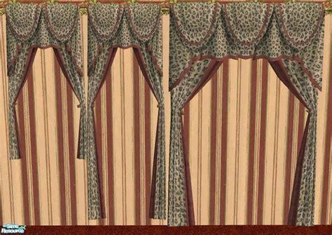 leopard print curtains drapes rhondablonda s curtains in leopard print
