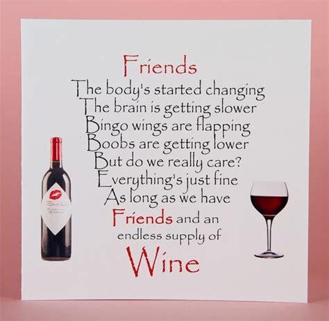 Wine Themed Birthday Cards