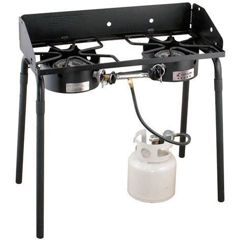 outdoor kitchen stove c chef explorer 2 burner propane stove 155995