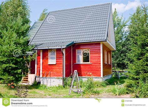 the new small house new small country house stock photo image 21281990