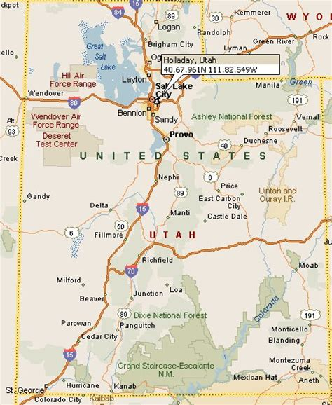 holladay utah map 4