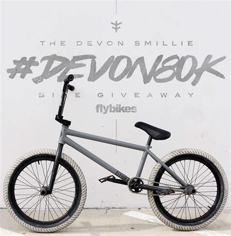Bmx Bike Giveaway - fly bikes devon80k devon smillie bike giveaway